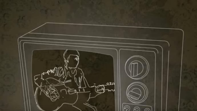 Oasis 'Talk Tonight' (Lyric Video) by Ste McGregor