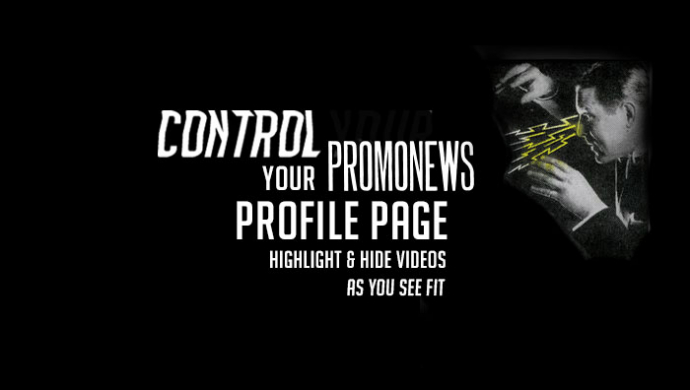 Promo News offers profile page holders more control