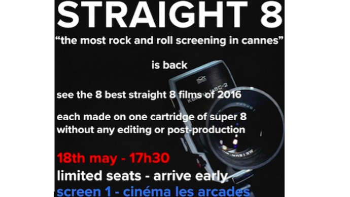 straight 8 returns to Cannes with May 18th screening