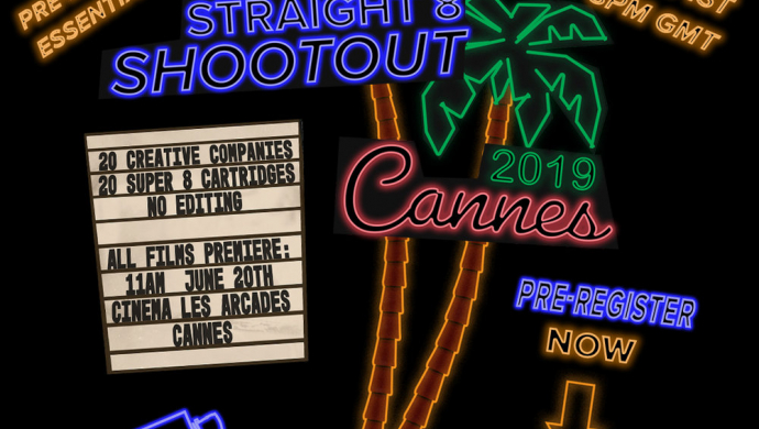 ​straight 8 shootout at Cannes 2019 is open for entries