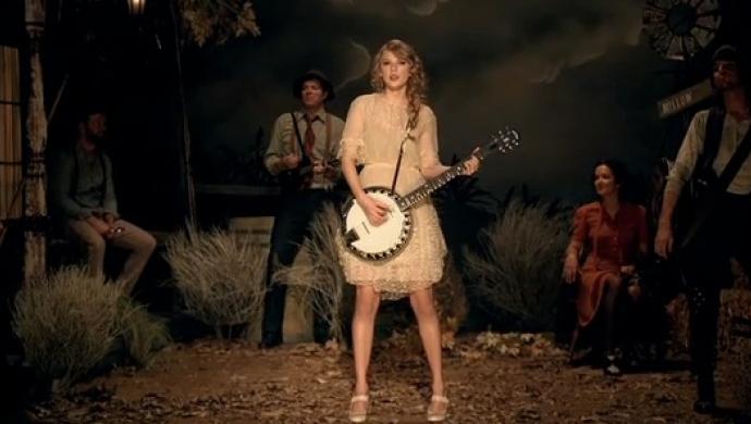 Taylor Swift's Mean by Declan Whitebloom