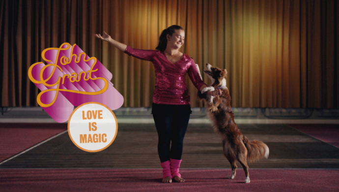 John Grant 'Love Is Magic' by Fanny Hoetzeneder