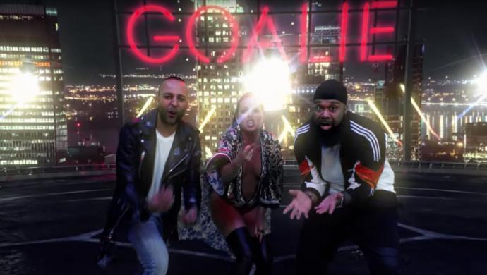 Arash, Nyusha, Pitbull & Blanco 'Goalie Goalie' by Farbod Khoshtinat