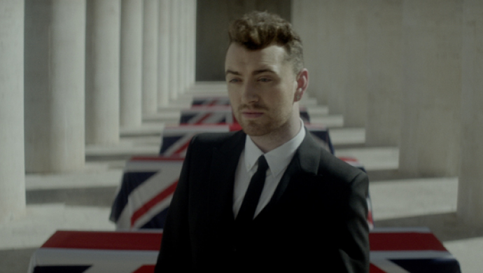Sam Smith 'Writing's On The Wall' by Luke Monaghan