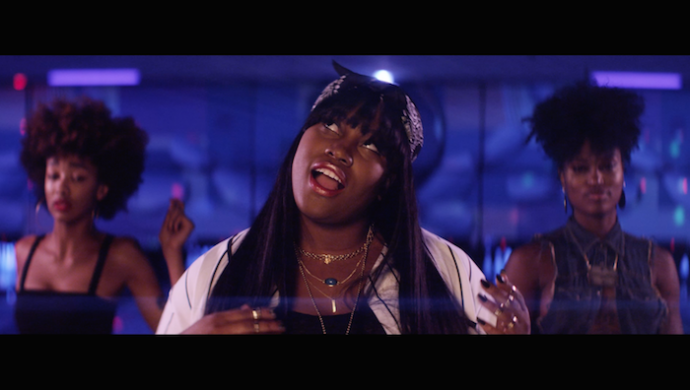 Crystal Caines ft. A$AP Ferg 'White Line' by Kidshow