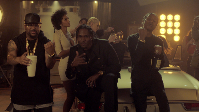 Pusha T Ft. Kanye West, A$AP Rocky, The-dream 'M.P.A.' by Shomi Patwary