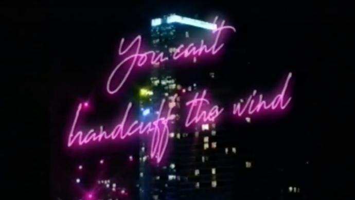 Richard Thorncroft 'You Can't Handcuff The Wind' by Julian Barrett