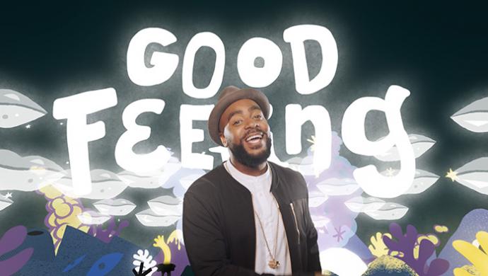 Jodie Abacus 'Good Feeling' by Kent Hugo