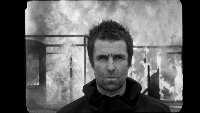Liam Gallagher 'Shockwave' by Francois Rousselet