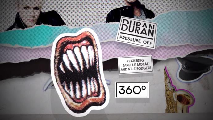 Duran Duran 'Pressure Off [360 Lyric Video]' by Samantha Evans