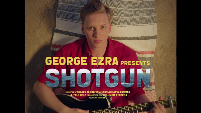 George Ezra 'Shotgun' by Nelson De Castro and Carlos López Estrada