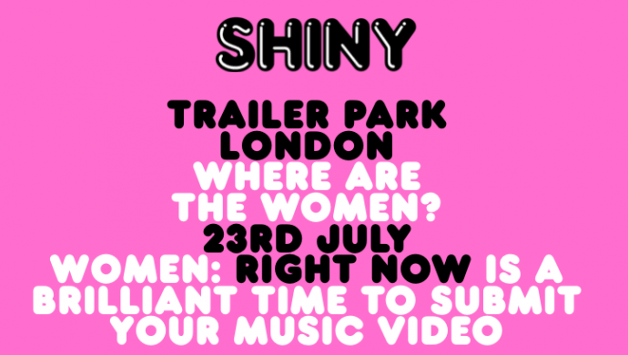 Call for entries to Shiny's 'Where Are The Women?'