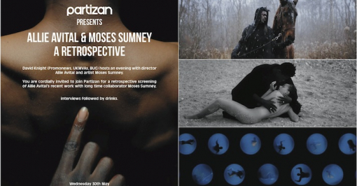 Allie Avital's videos for Moses Sumney in London screening on May 30th