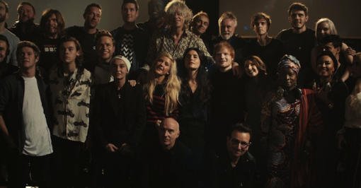 BandAid30 'Do They Know It's Christmas? 2014' by Andy Morahan