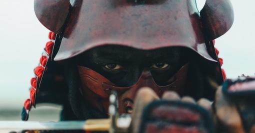 Piers James 'Samurai' by Luke Davies