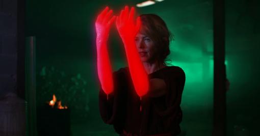 Christina Rosenvinge 'La Tejedora' by Dario Peña