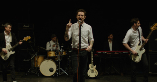 Frank Turner 'Blackout' by Mike Baldwin