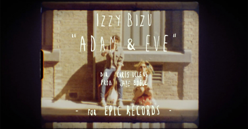 Izzy Bizu 'Adam & Eve' by Chris Ullens