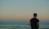 Callum Beattie 'Man Behind The Sun' by Michael Holyk