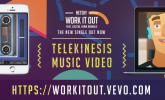 Netsky 'Work It Out' by Leo Bridle