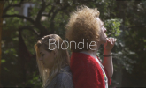 Two Penny Blue  'Blondie ' by Cyrus Mirzashafa
