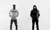 Royce Da 5'9 ft Eminem, King Green 'Caterpillar' by James Larese